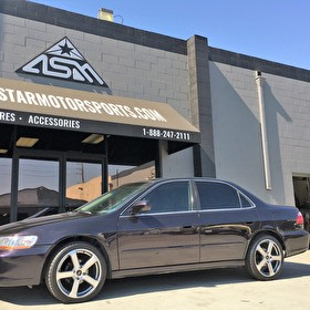 Honda Accord on 18 Inch American Racing Silver Finish