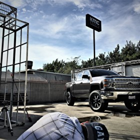 Photoshoot @ All Star Alley with Moto Metal MO970 on Chevy 1500 Silverado