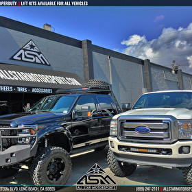 Twin Ford F350 Superduty Lifted Trucks