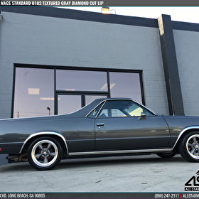 Classic El Camino | US Mags U102 Standard Textured Gray Diamond Cut Lip