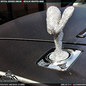 Rolls Royce | Custom Crystalized Emblem
