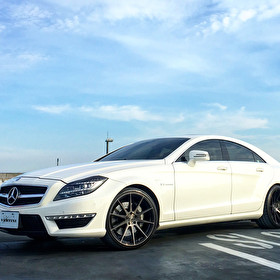 Vertini Wheels Photoshoot with Mercedes Benz CLS 63 AMG | RF1.3 Wheels Staggered