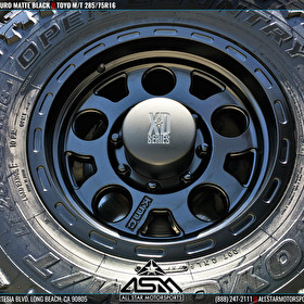 XD Series Wheels by KMC Wheels XD122 Enduro Matte Black on Toyo M/T Tires