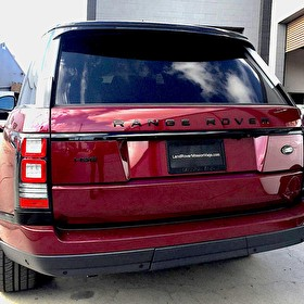 2017 Range Rover HSE | Hornburg Land Rover Mission Viejo | Blackout Package Rear Angle