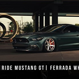 2015 Bagged Mustang GT | Ferrada Wheels FR1