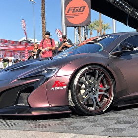 SEMA 2016 | Mclaren P1 Sitting Pretty in Forgiato's Booth