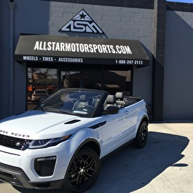 Range Rover Evoque 2 Door Convertible Blackout Package