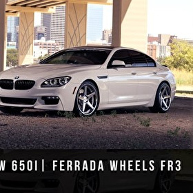 2015 BMW 650i | Ferrada Wheels FR3