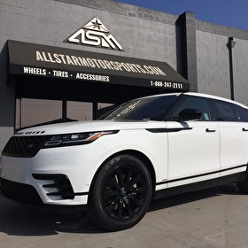 White Land Rover Range Rover Velar | Blackout Package