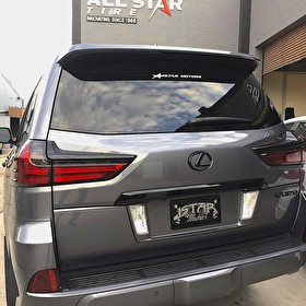 J STAR MOTORS | Lexus LX570 | Blackout Package Rear Panels