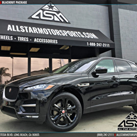 NEW Jaguar F-PACE Blackout Package