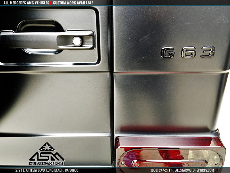 Mercedes G63 AMG Custom Paint Work
