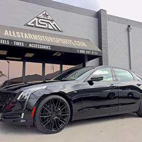 Custom Blackout on Cadillac CT6 Sedan | Blackout Trim and Wheels