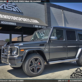 Mercedes G-Wagon G63 AMG | Pre Blackout Package