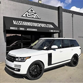 Land Rover Range Rover Full Size HSE | Full Blackout Package with Custom Carbon Kit