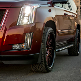 STRUT Escalade Shoot | Wheels and STRUT Panel Kit for Escalade