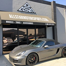 Porsche Cayman Convertible | Wheel Blackout Package