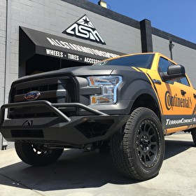 Continental Tire Stops by! Showing off this New Ford F150 on Continental TerrainContact A/T