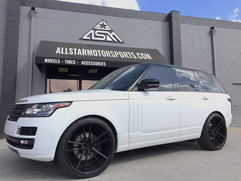 "Land Rover Range Rover | 24"" 3 piece Rotiform Wheels 