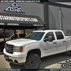 GMC Sierra 2500HD | Method Race Wheels Grid Titanium Matte Black