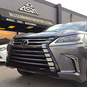 J STAR MOTORS | Lexus LX570 | Blackout Package Front Grille