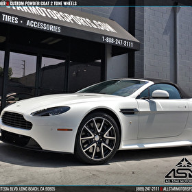 Aston Martin DB9 - Custom Powdercoated 2-Tone Wheels