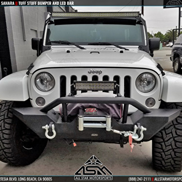 Jeep jk wrangler sahara tuff stuff front bumper all star jeep jk wrangler sahara tuff stuff front bumper all star motorsports gallery 2018 mozeypictures Gallery