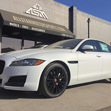 Land Rover Mission Viejo >> White Jaguar XF | Blackout Package | Powdercoated Black Wheels - All Star Motorsports Gallery 2018