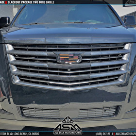 Cadillac Escalade Two Tone Grille Blackout Package