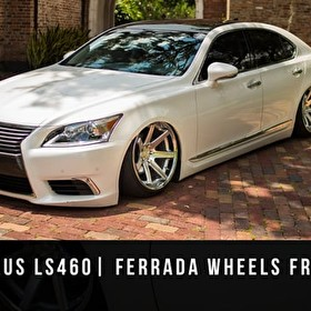 2015 LEXUS LS460 BAGGED | FERRADA Wheels FR1