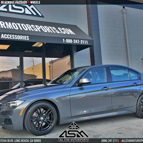 BMW 5 Series Blackout Package