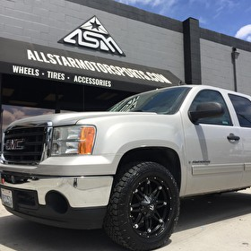GMC Sierra 1500 on Fuel Offroad D531 Hostage 20x9 and Fuel Gripper A/T 275/55R20 Tires
