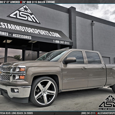 Lowered Chevrolet Silverado 5 Quot 3 Quot Lowering Kit 24 Inch
