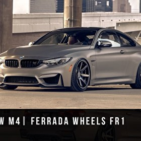BMW M4 | Ferrada Wheels FR1