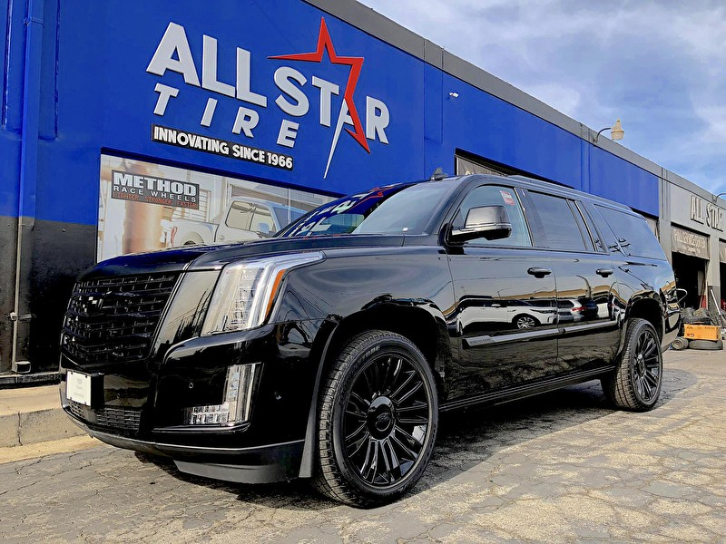 Allen Cadillac | Escalade Blackout Package | Black Powder Coated Wheels