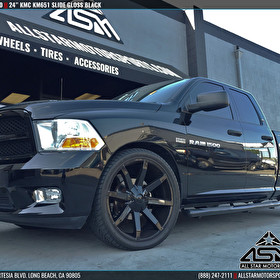 Dodge Ram 1500 | 24 Inch KM651 Slide Gloss Black