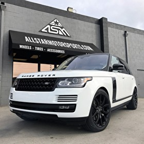 Land Rover Newport Beach | Blackout Package for another happy client!