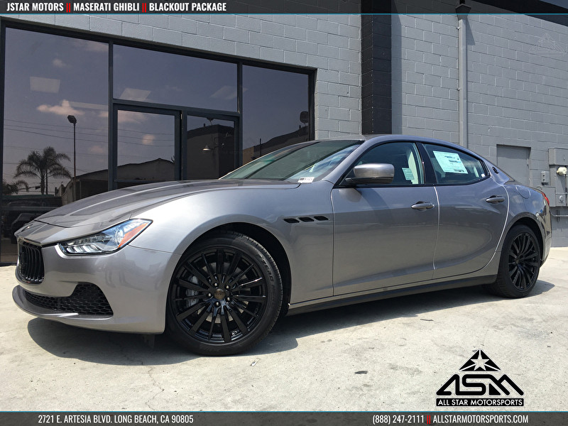 Jstar motors maserati anaheim hills ghibli blackout wheels for Jstar motors anaheim hills