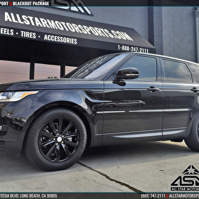 Black Range Rover Sport | Blackout Package | Wheels Trim and Panels
