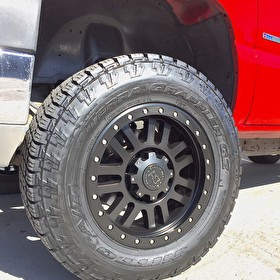 18x9 Black Rhino Madness with 285/65R18 Nitto Terra Grappler G2