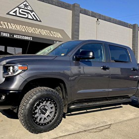 Toyota Tundra MaxTrac Level Kit | Method Race Wheels Grid 18x9 | BF Goodrich All Terrain T/A KO2 275/70R18