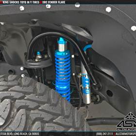 Jeep JK Wrangler with King Shocks and Toyo Open Country M/T Tires