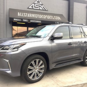 J STAR MOTORS | Lexus LX570 | Blackout Package Side Angle
