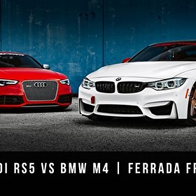 BMW M4 vs Audi RS5 | Ferrada Wheels FR1 & FR3