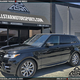 Land Rover Range Rover | Blackout Package | Stock Wheels