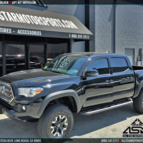 Black 2016 Toyota Tacoma | Lift Kit Install | Ready for Some Wheels