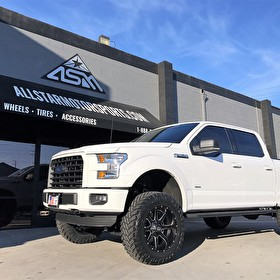 White Ford F150 Lifted | 20x10 Fuel Offroad D538 Maverick | 35x12.50R20 Atturo Trail Blade M/T