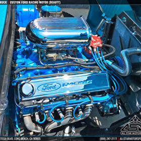 Custom Ford - Awesome Build - Engine Detail