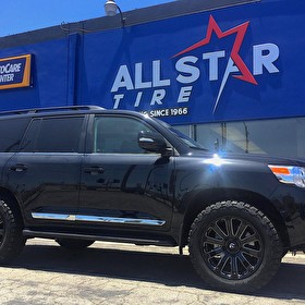 Toyota Land Cruiser on 20 Inch Fuel Offroad D598 Diesel and BF Goodrich All Terrain T/A KO2