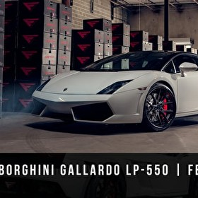 Ferrada Wheels FR2 Black Lamborghini Gallardo LP-550-HD